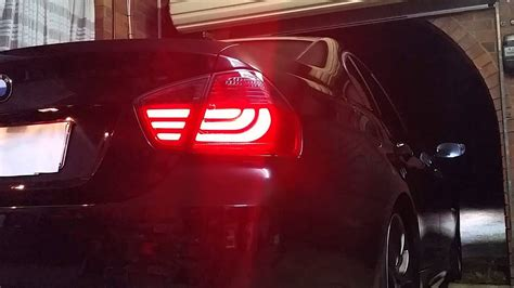 Testing my BMW E90 3 Series 320i LED 05-08 Smoked Red Lava